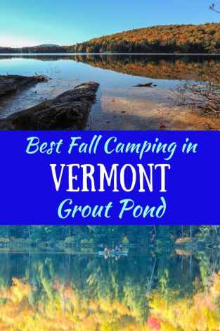 Fall foliage scenes - Grout Pond VT