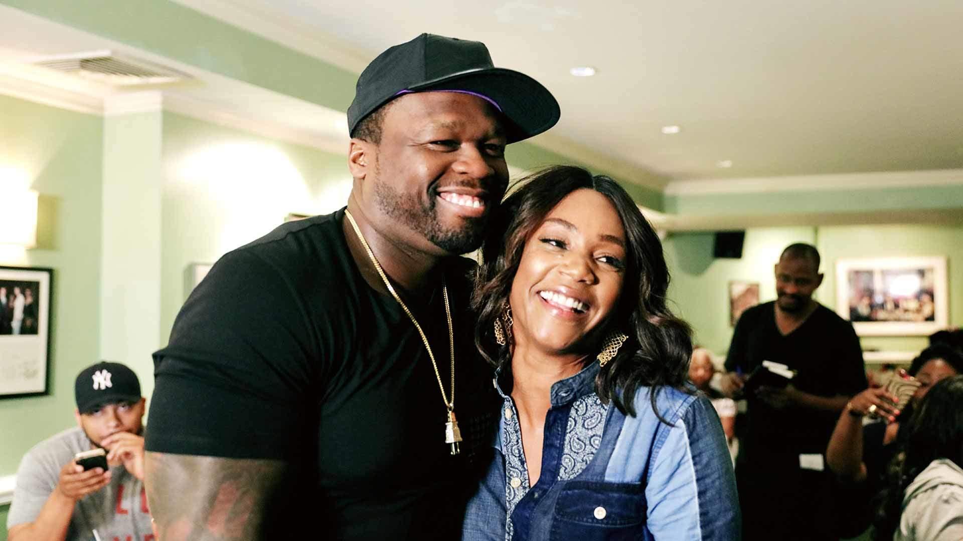 50 Cent and Tiffany Haddish
