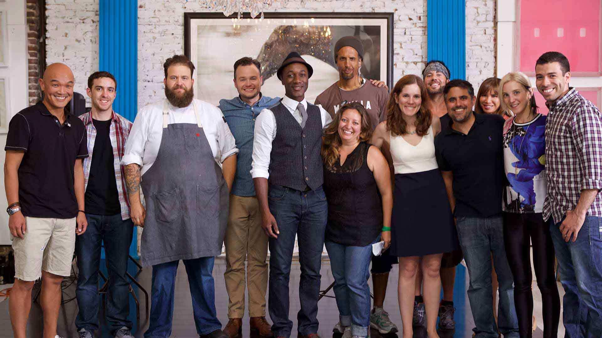 Culinary Beats Aloe Blacc and Crew