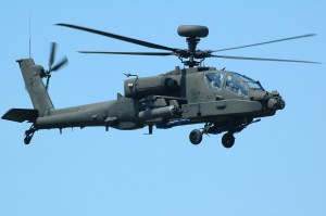 Apache Helicopter Magnet USAF US Army