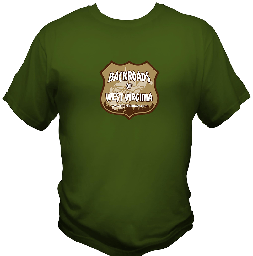 BACKROADS OF WV T-SHIRT