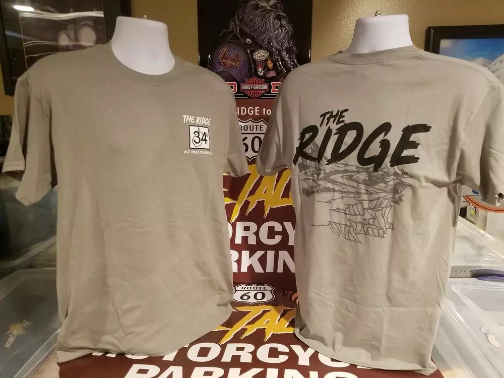 THE RIDGE OG GRAY TSHIRT