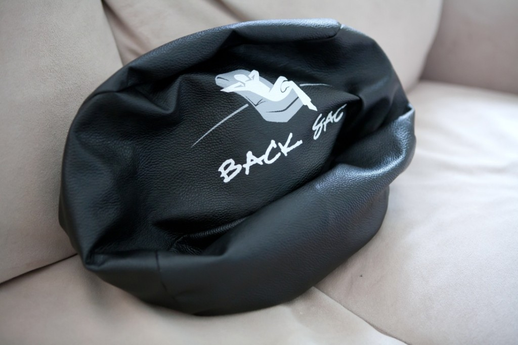 The BackSac A Portable And Unique Back Support That Helps