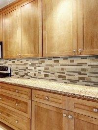 Travertine Subway Mix Backsplash Tile for Kitchen ...