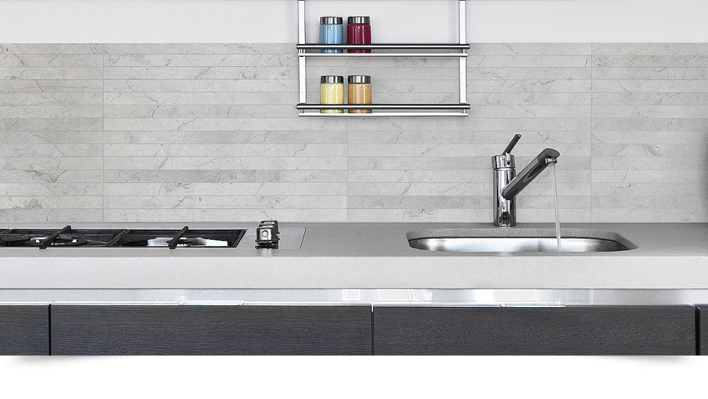 Modern Kitchen Backsplash Tile Countertop from Backsplash.com