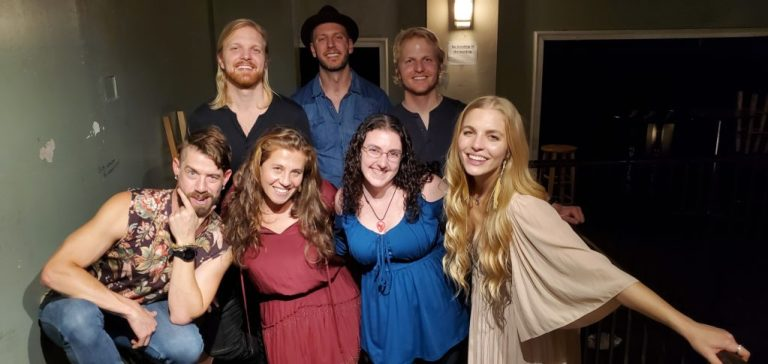 Delta Rae and Amanda Epstein in Raleigh 2019
