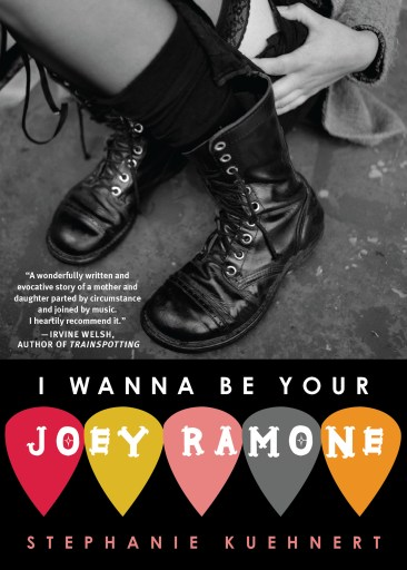 Punk rock books: I Wanna Be Your Joey Ramone by Stephanie Kuehnert