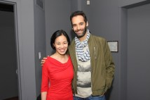 Lia Chang and Jonathan Raviv. Photo by Garth Kravits