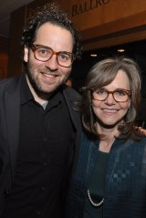Gold & FieldSam Gold and Sally Field (l. to r.) attend the Tony Honors Cocktail Party Presenting The 2017 Tony Honors For Excellence In The Theatre And Honoring The 2017 Special Award Recipients - at Sofitel Hotel on June 5, 2017 in New York City. Credit: Shevett Studios