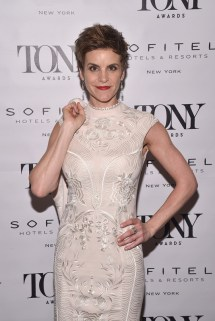 NEW YORK, NY - JUNE 05: Jenn Colella attends the Tony Honors Cocktail Party presenting the 2017 Tony Honors for excellence in the theatre and honoring the 2017 special award recipients at Sofitel Hotel on June 5, 2017 in New York City. (Photo by Bryan Bedder/Getty Images for Tony Awards Productions)