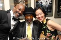 John Earl Jelks, Anthony Chisholm and Lia Chang. Photo by Garth Kravits