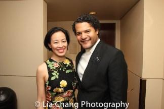 Lia Chang and Brandon J. Dirden. Photo by Garth Kravits
