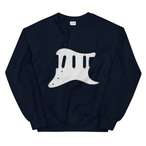 Guitar Scratchplate Sweatshirt