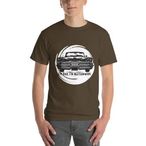 I'm Bad I'm Nationwide Car T-Shirt