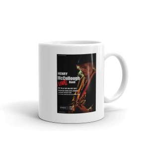Henry McCullough Tour Poster Coffee Mug