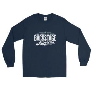 Backstage Kinross Long Sleeve Tee Shirt