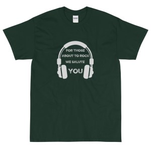 For Those About To Rock We Salute You T Shirt