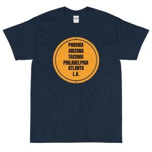 American Cities Short Sleeve T-Shirt