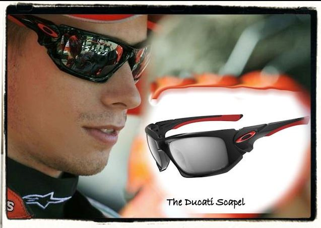 The Oakley Ducati Scapel