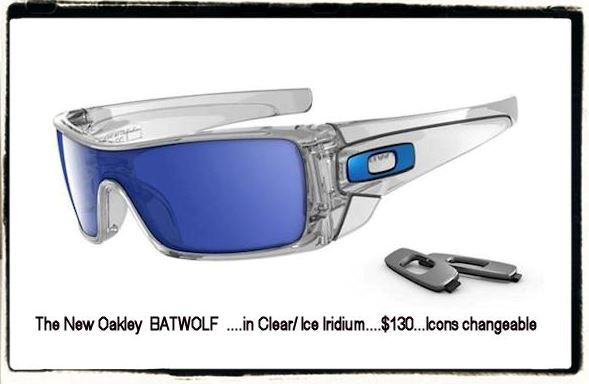 The Oakley Batwolf 2010