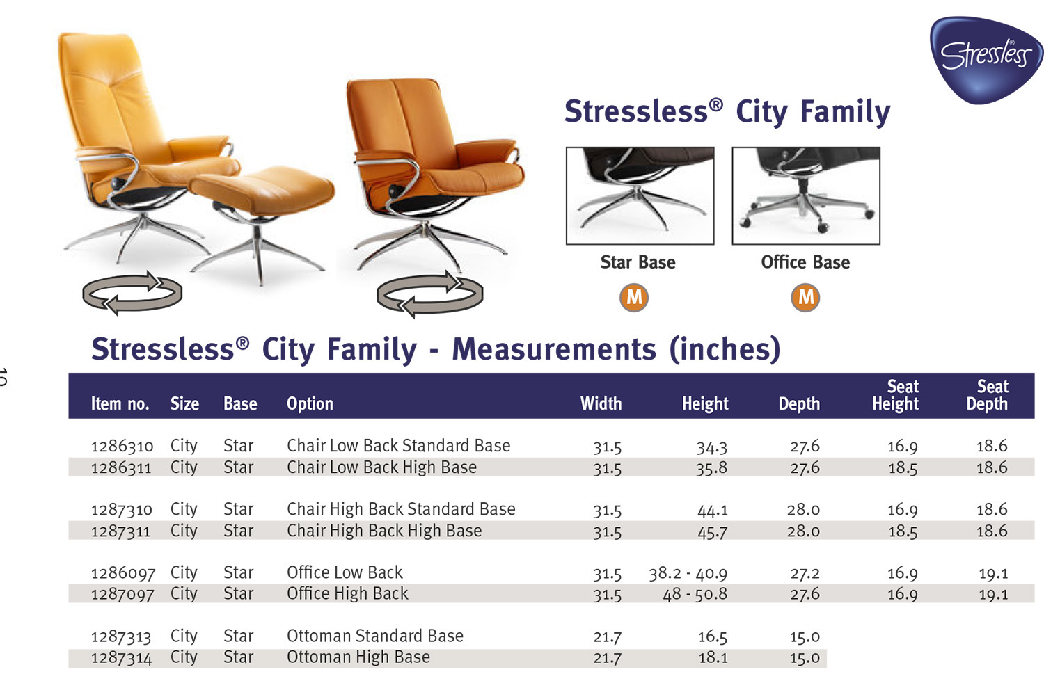stressless chair sizes nail salon city high back paloma clementine leather recliner family from ekornes