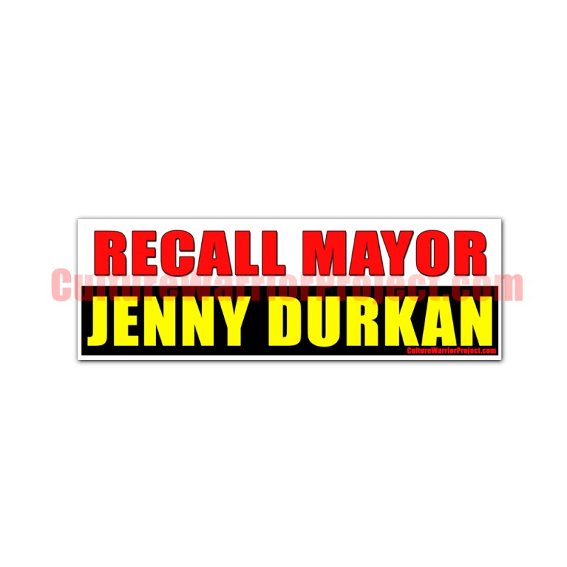Recall Mayor Jenny Durkan STICKERS - 2 Pack
