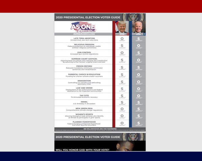 Americas Voter Guide