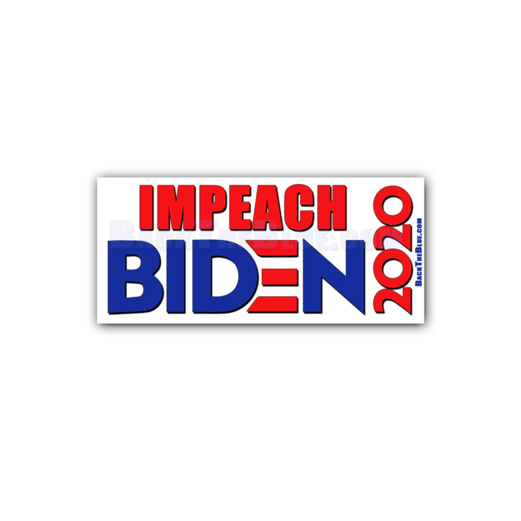 Impeach Biden 2020 Stickers