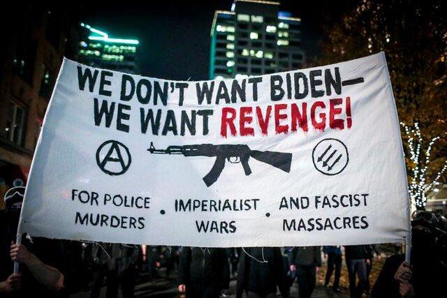Antifa wants a war