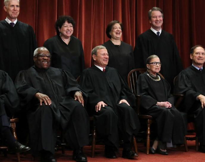 "Supreme Court Justice Samuel Alito said the COVID-19 pandemic had led to ""Previously Unimaginable"" curbs on individual liberty"