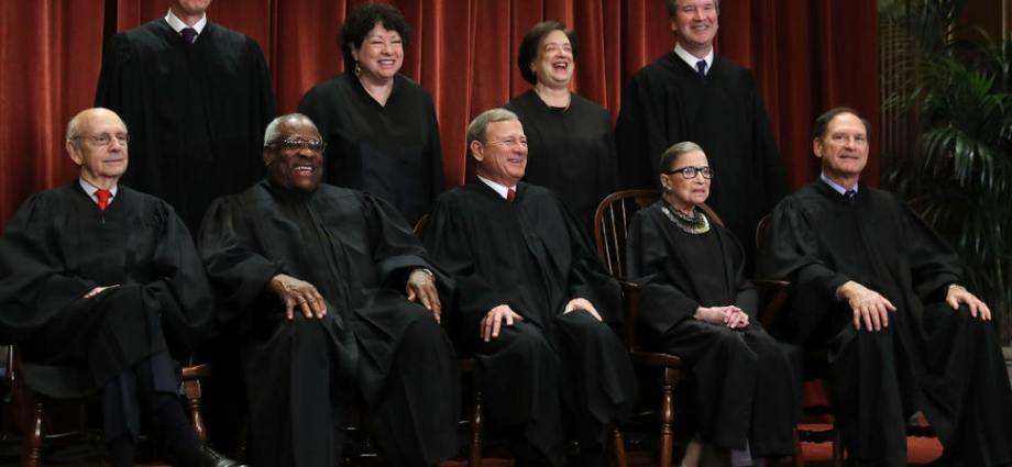 """Supreme Court Justice Samuel Alito said the COVID-19 pandemic had led to """"Previously Unimaginable"""" curbs on individual liberty"""