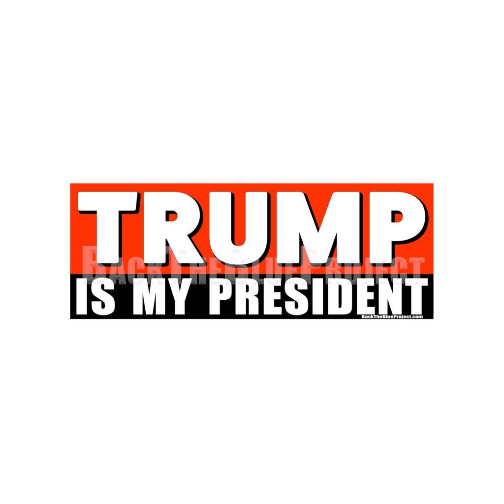 Trump Is my President