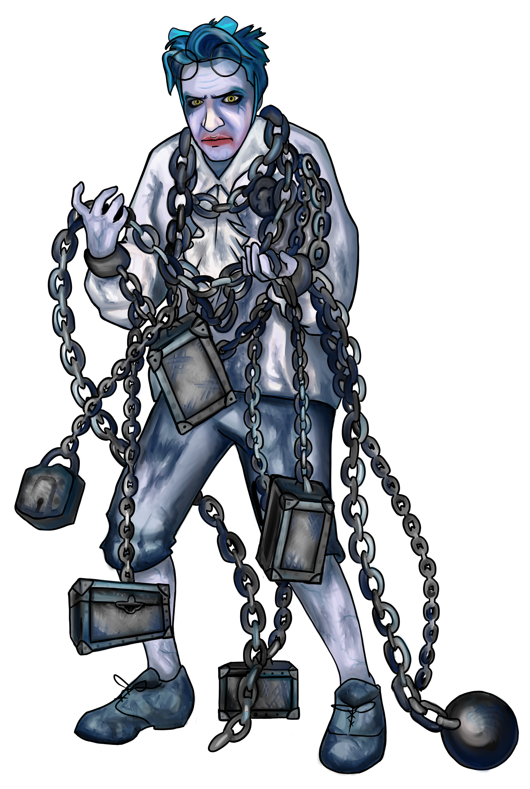Jacob Marley by Hillary Chicoine-Chen