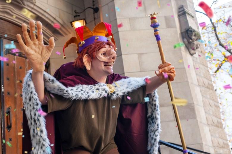 Festival of Fools costume.