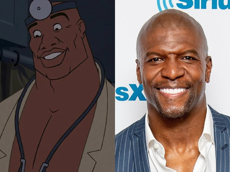 """Terry Crews as Doctor Joshua Sweet from """"Atlantis: The Lost Empire"""""""