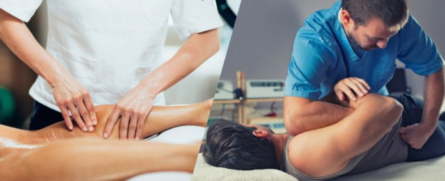 chiropractic care and remedial massage