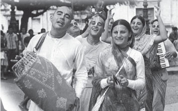 Devotees Doing Sankirtan