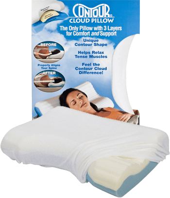 Contour Cloud Orthopedic Pillow  Exclusive Online Offer