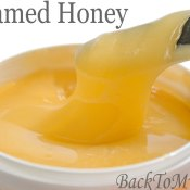 Homemade Creamed Honey
