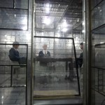 Soundproof meeting room