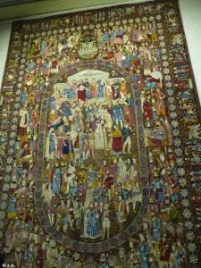 In the carpet museum