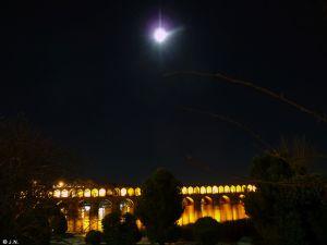 33rd Bridge at night