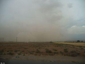 Dust strom