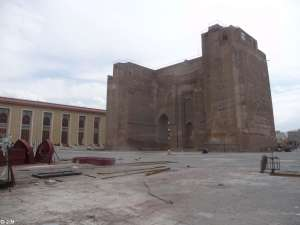 Old city gate of Tabriz
