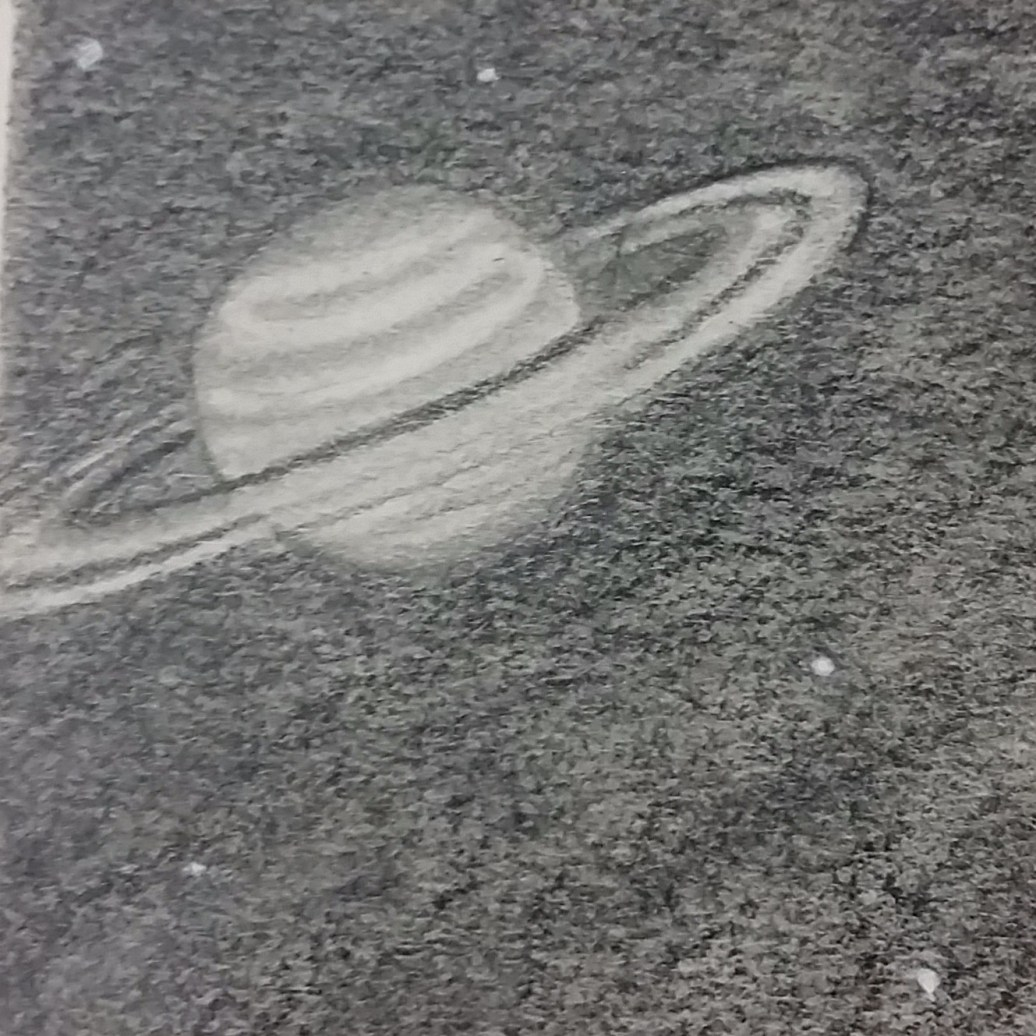 S swirl for Saturn (top half)