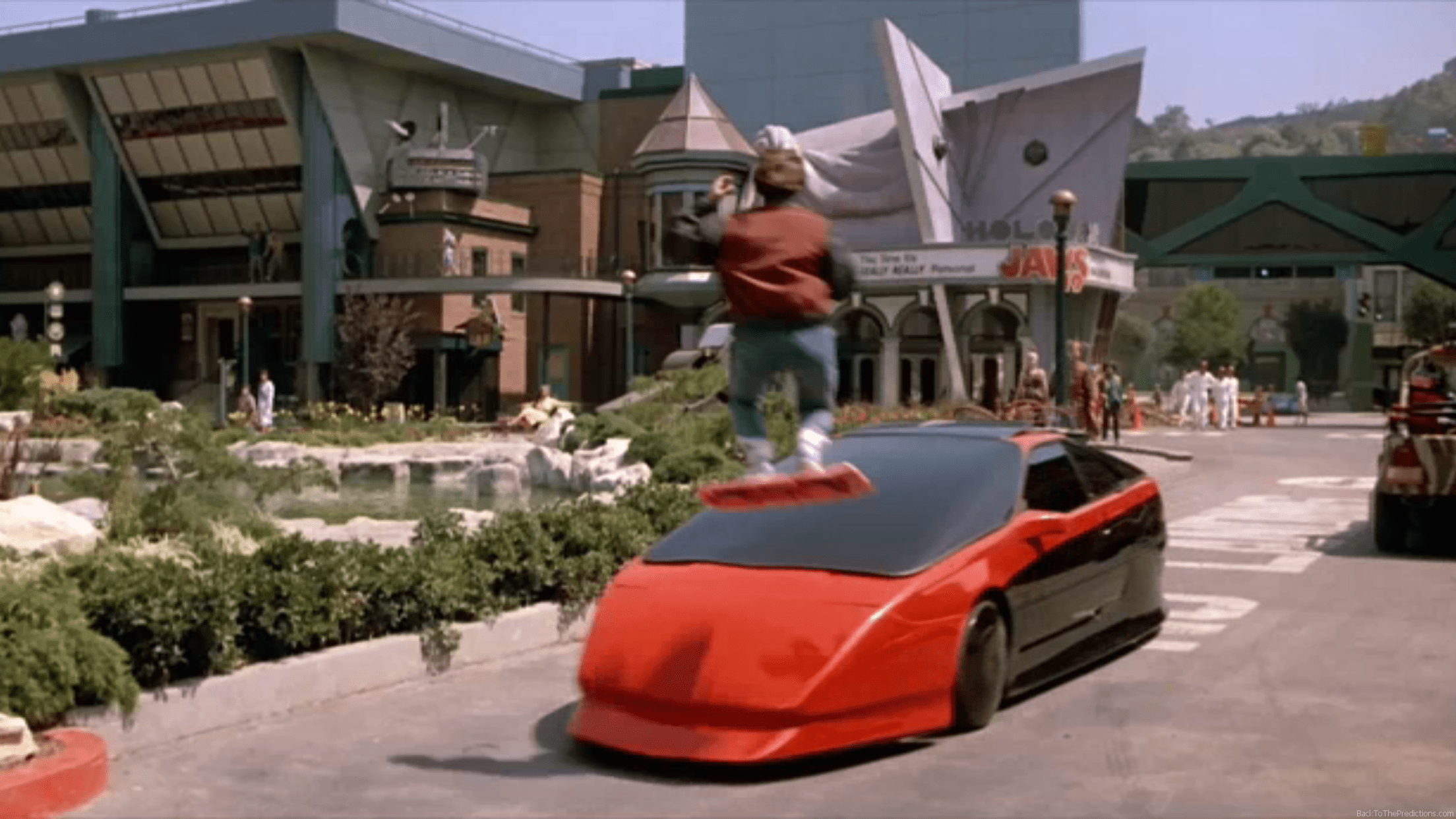 red ford probe back