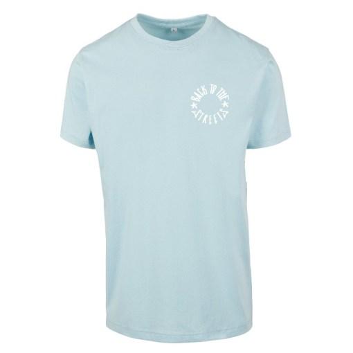 Classic Logo Frontprint Tee - ocean blue