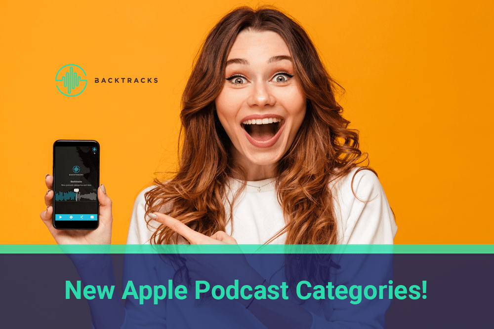 New podcast categories in Apple Podcasts