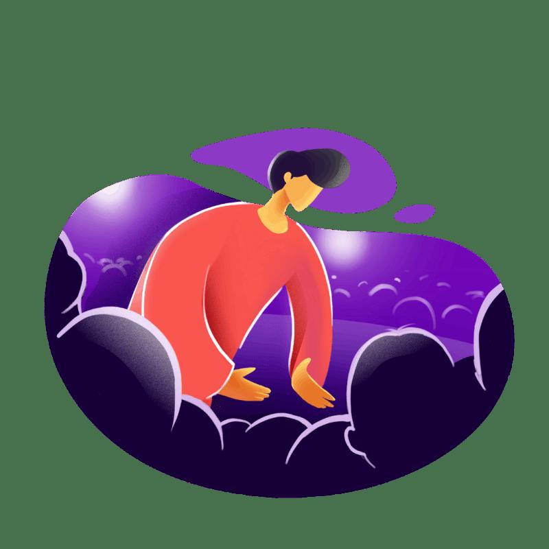 Illustration Mehr Menschen