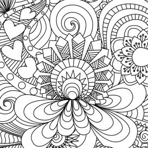 coloring pages to print for adults # 7